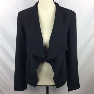 BB Dakota Draped Open Front Blazer Jacket